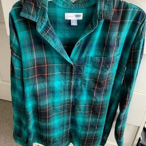 Old Navy flannel size M